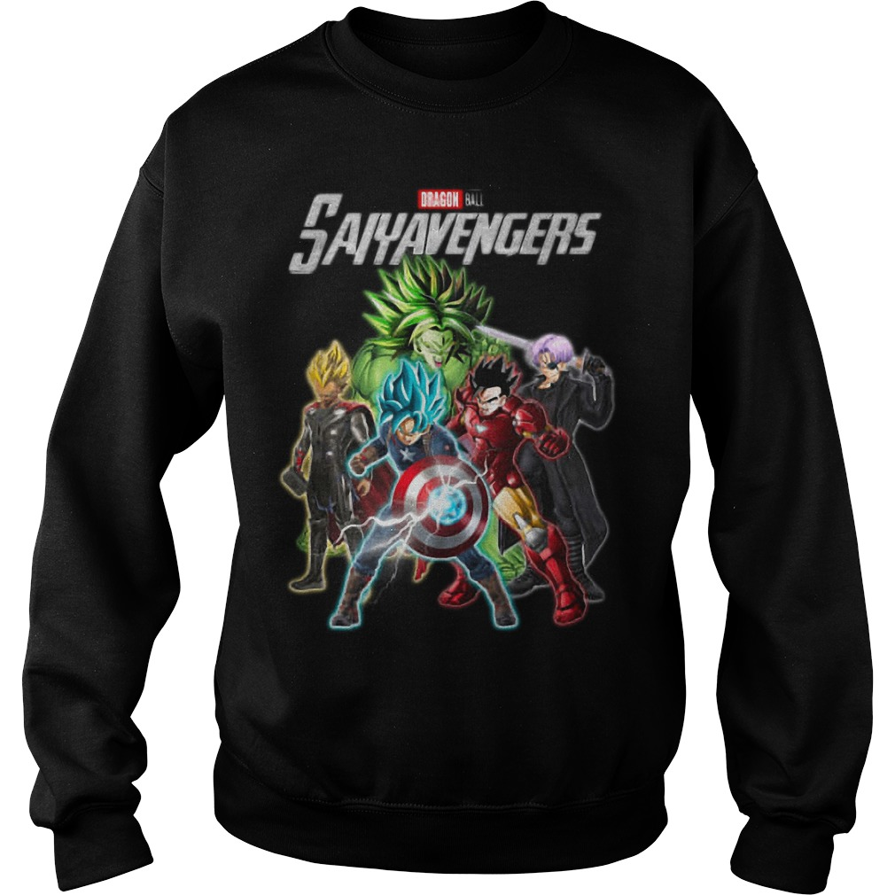 Dragon Ball Saiyavengers Sweater