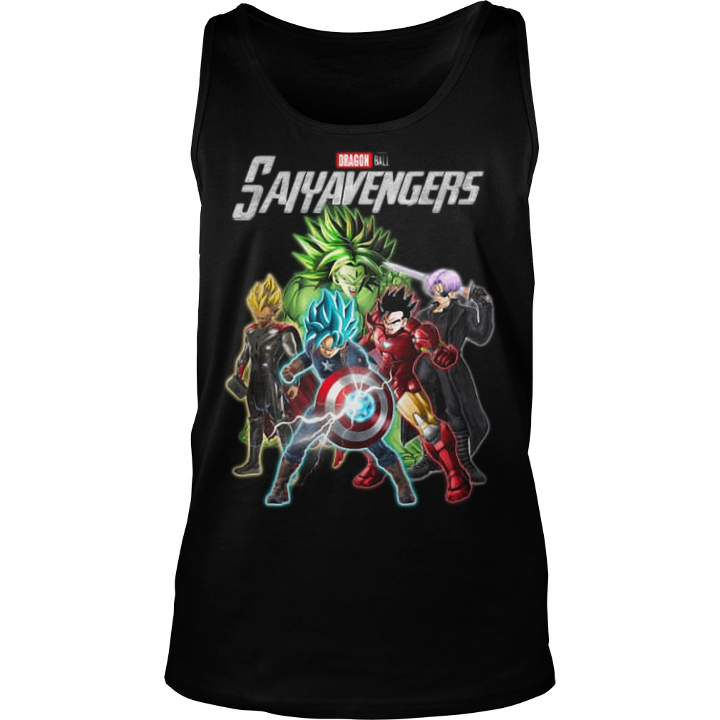 Dragon Ball Saiyavengers Tank Top