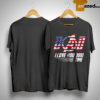 Flag America Dad I Love You 3000 Time Shirt