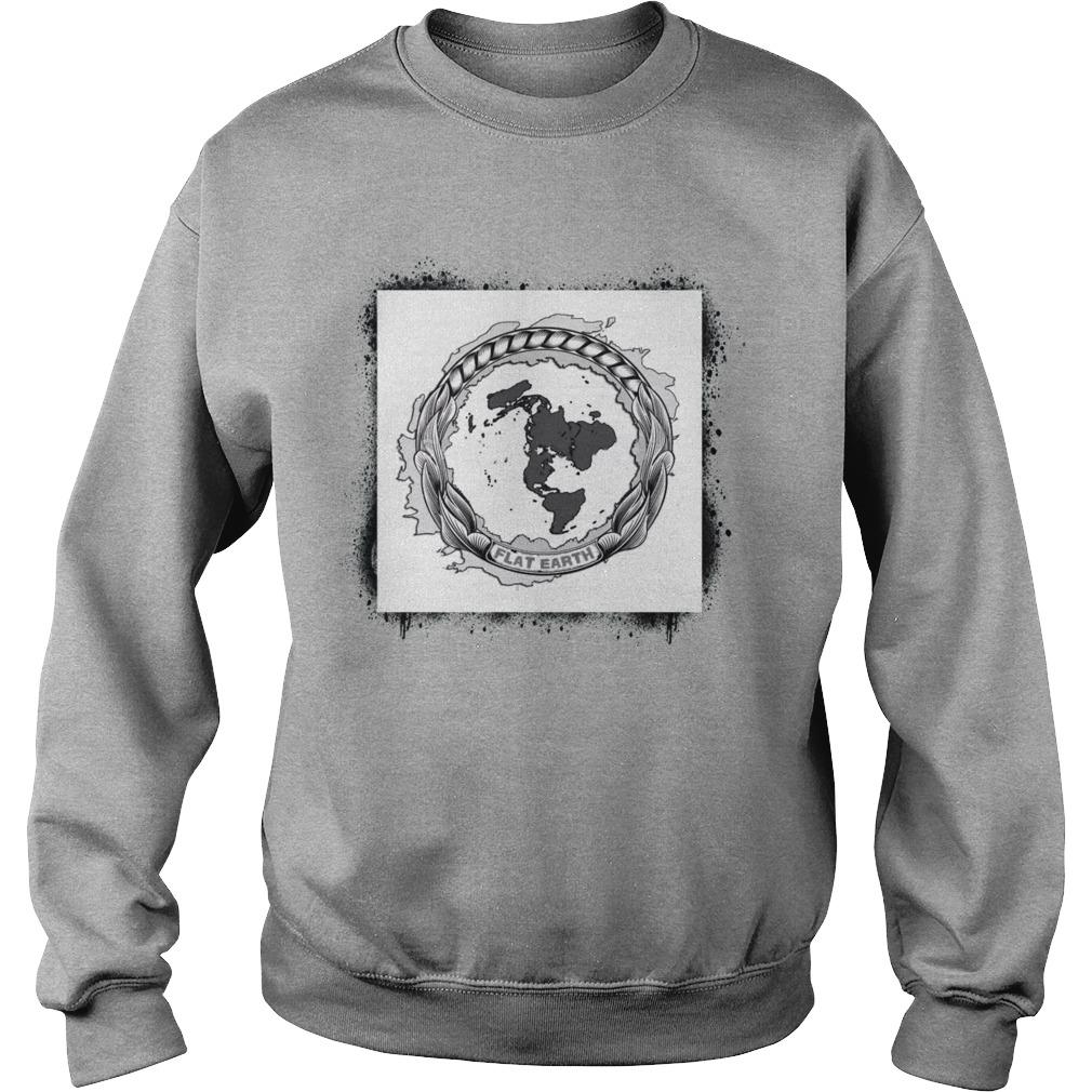 Flat Earth Sweater