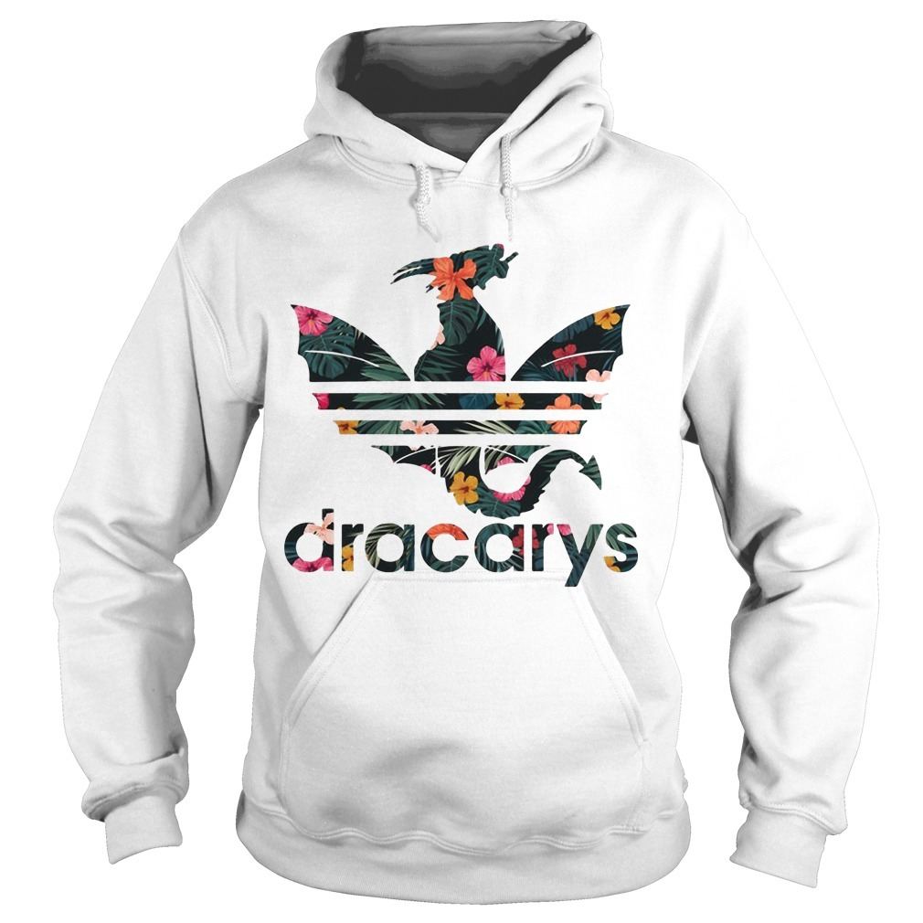 Floral Game Of Thrones Adidas Dracarys HoodieFloral Game Of Thrones Adidas Dracarys Hoodie