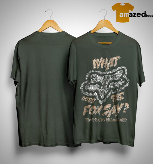 Fox Racing What Does The Fox Say Shirt