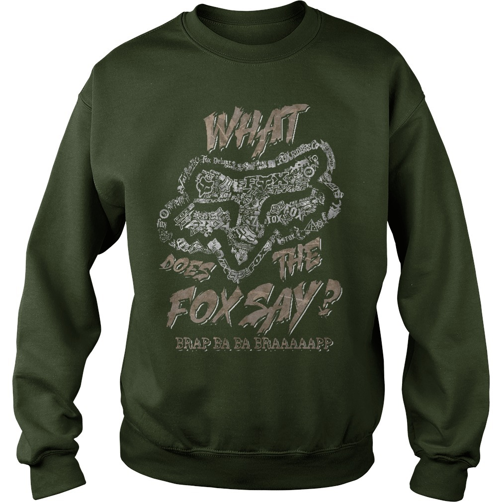 Fox Racing What Does The Fox Say Sweater