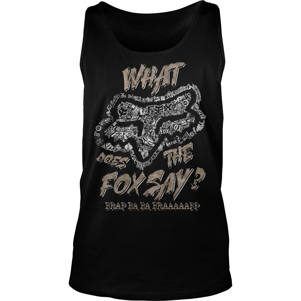 Fox Racing What Does The Fox Say Tank Top