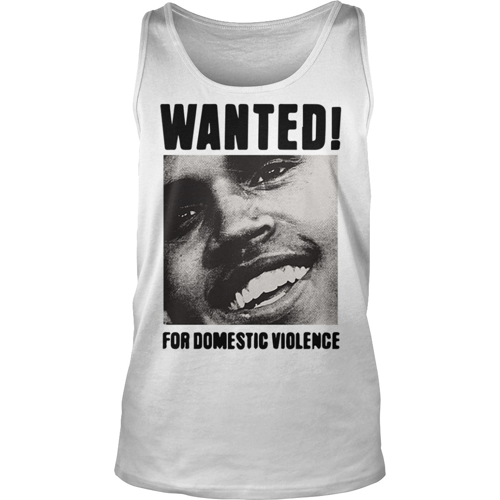 Frank Ocean Chris Brown Wanted For Domestic Violence Tank Top