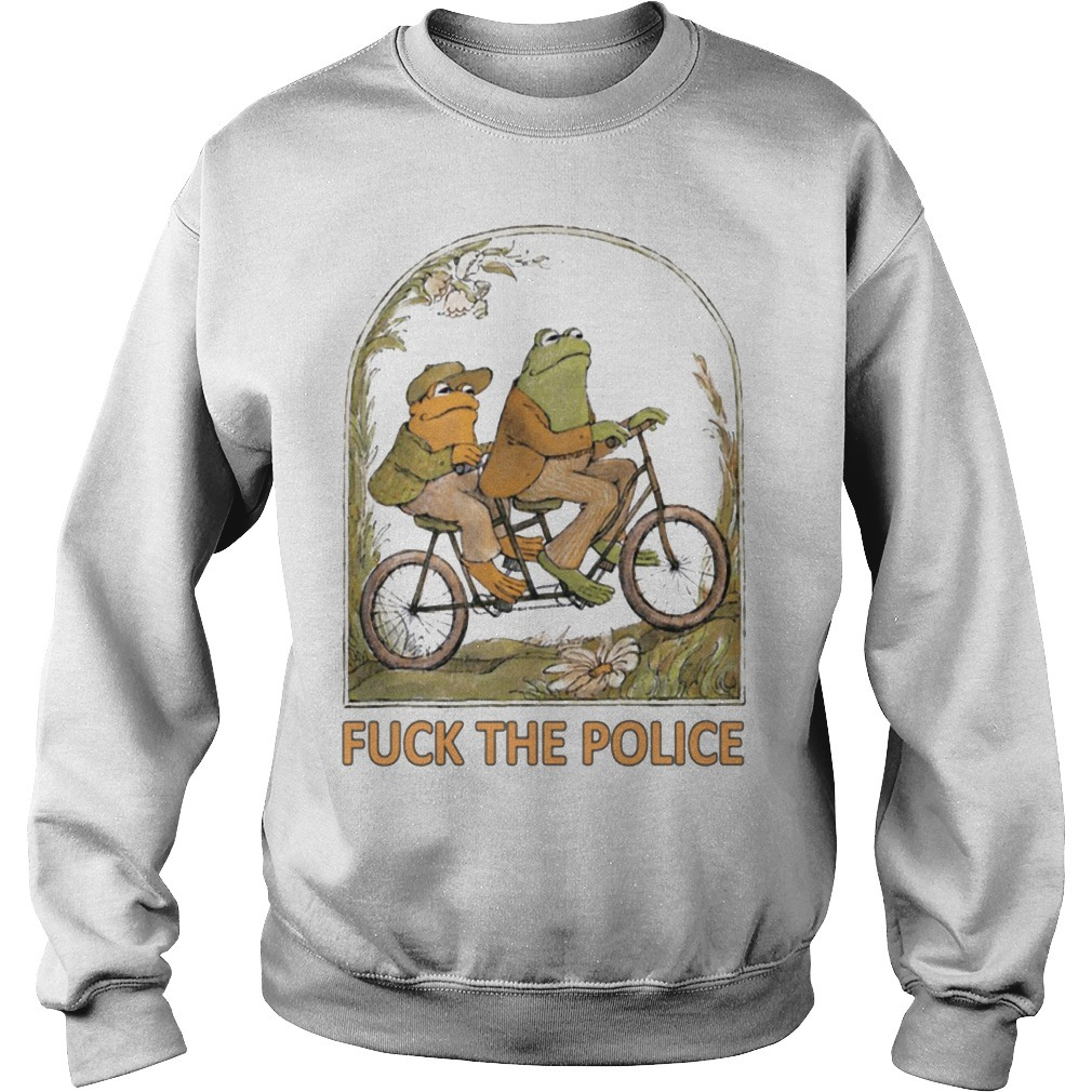 Frog And Toad Riding Fuck The Police Sweater