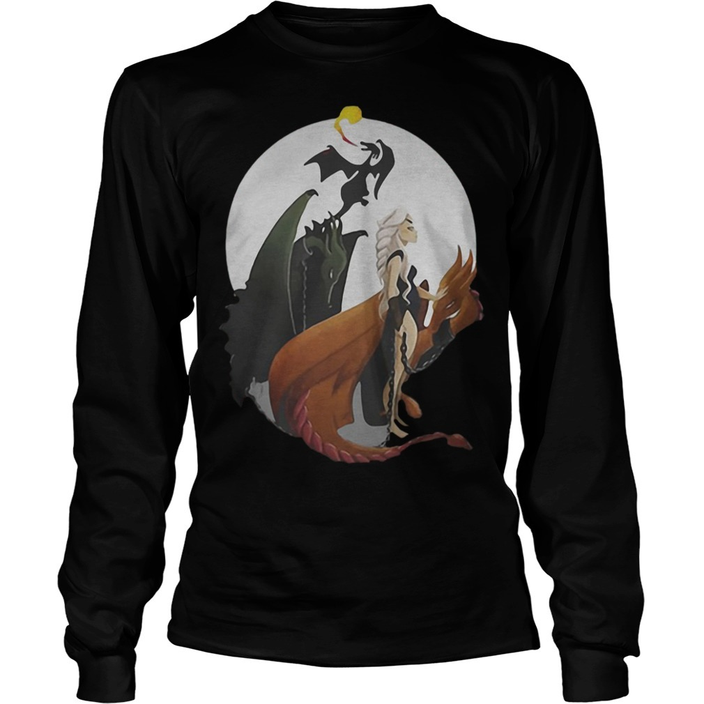 GOT Daenerys Targaryen Mother Of Dragons Longsleeve Tee