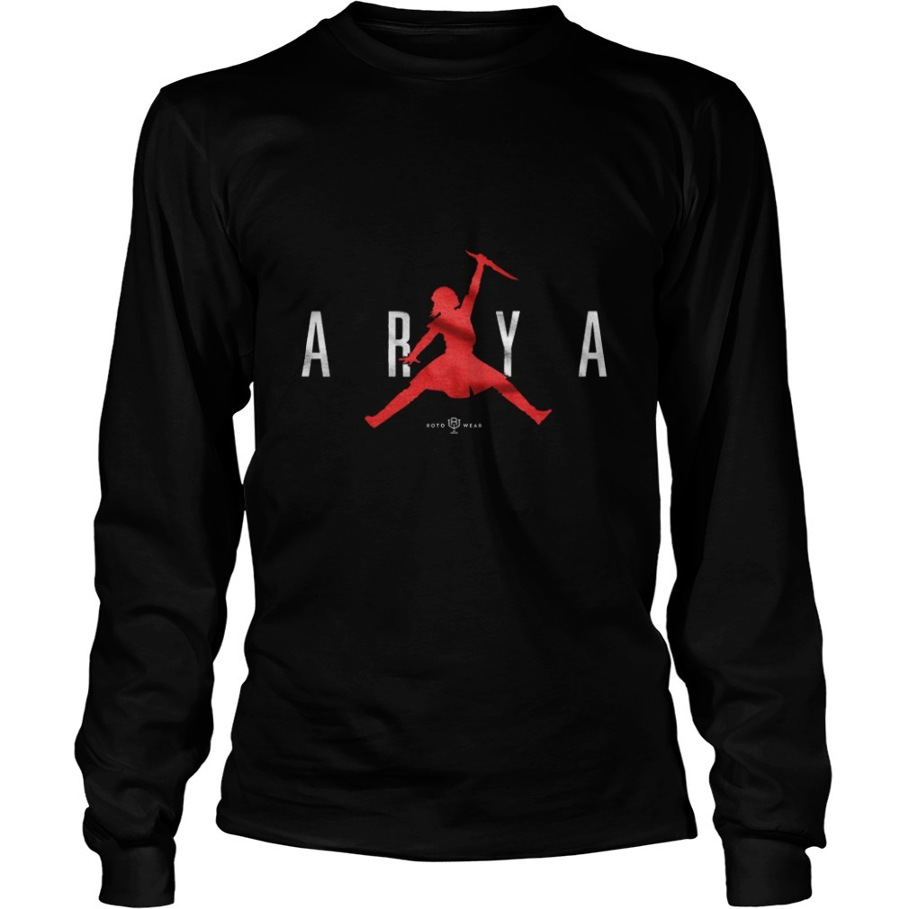 Game Of Thrones Air Arya Not Today Longsleeve Tee