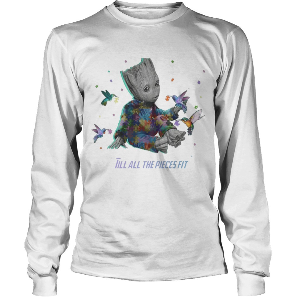 Groot Till All The Pieces Fit Longsleeve Tee