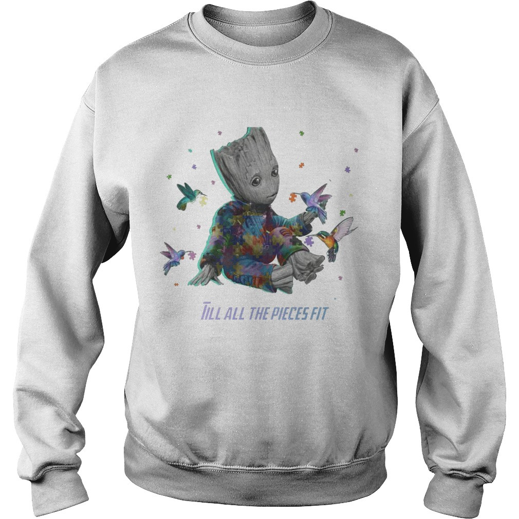 Groot Till All The Pieces Fit Sweater
