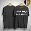 Hockey Good Mom Bad Mouth Shirt