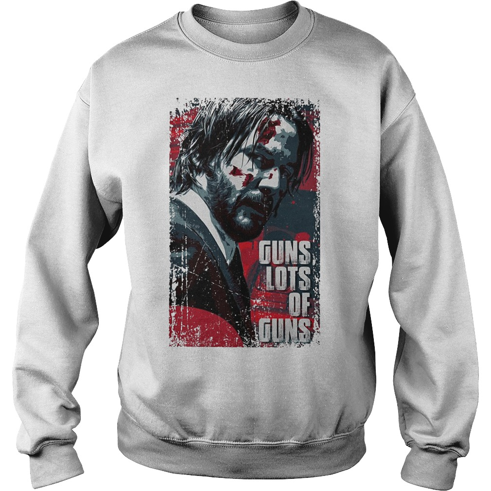 John Wick Guns Lots Of Guns Sweater