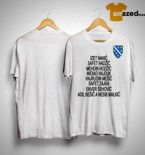 Jusuf Nurkic All Bosnian War Heroes Shirt