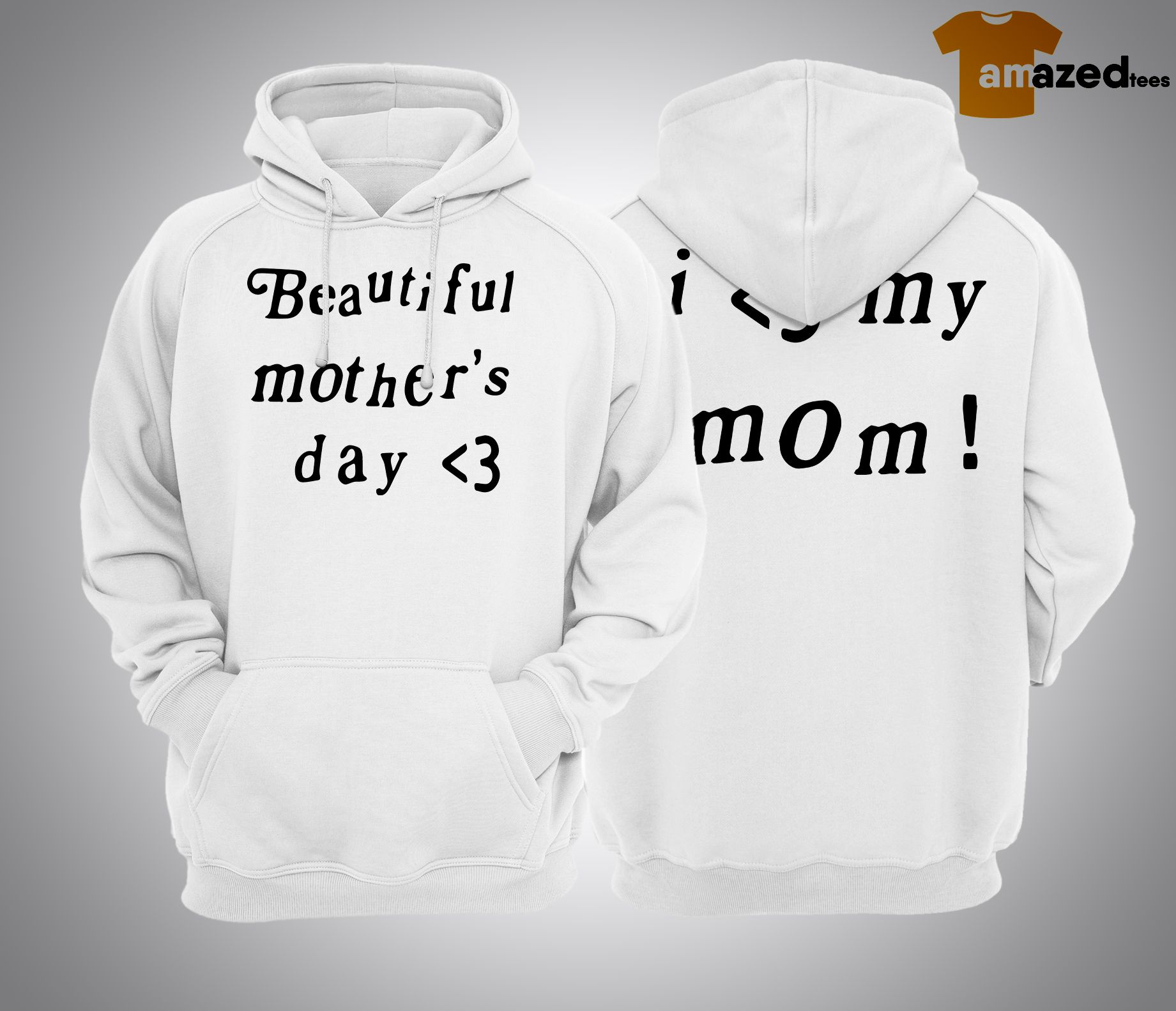 Kanye West Beautiful Mother's Day Hoodie