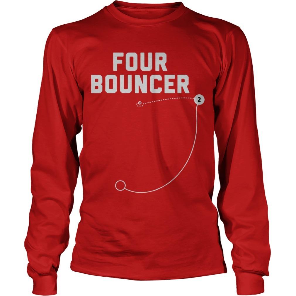 Kawhi Leonard Four Bouncer Longsleeve Tee