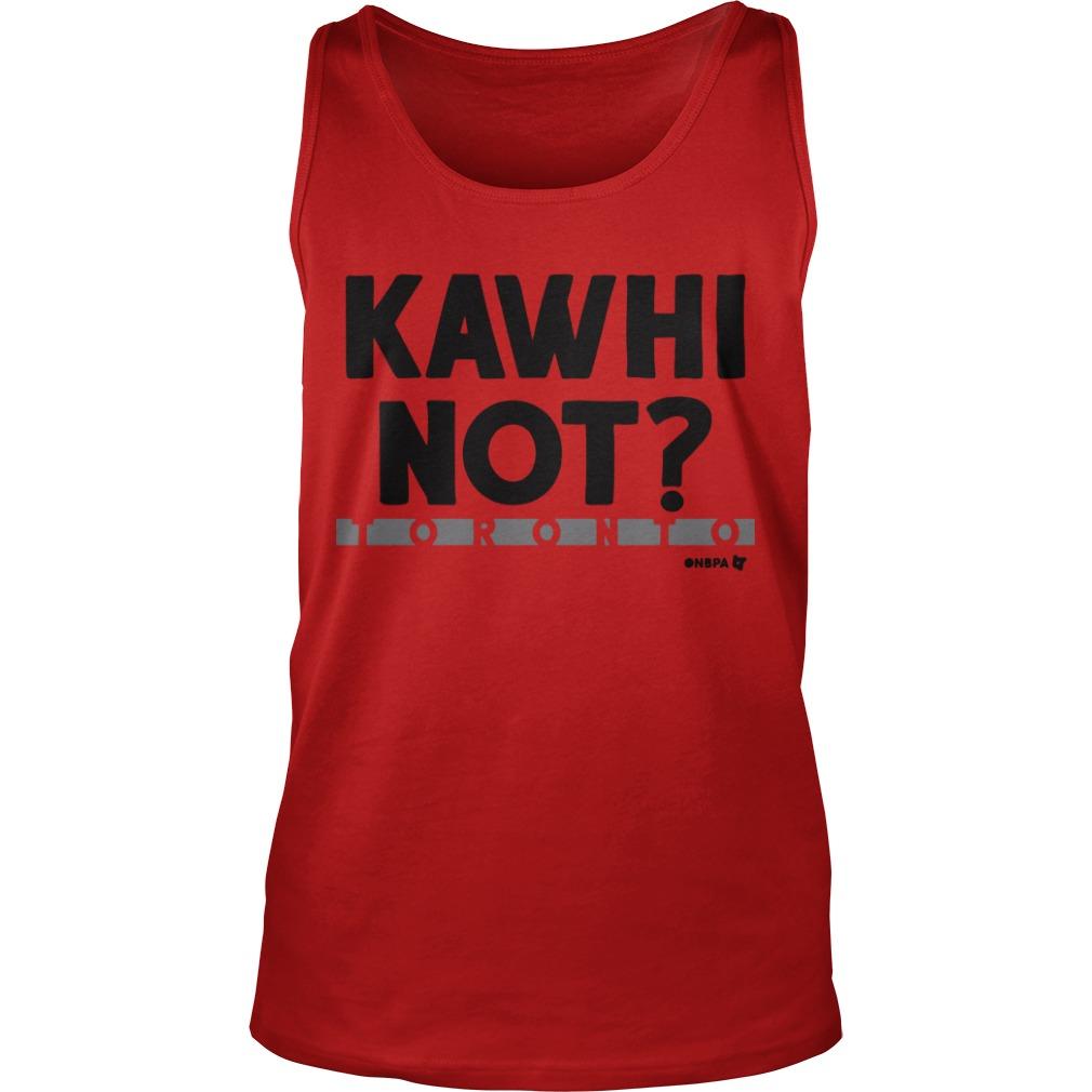 Kawhi Not Tank Top