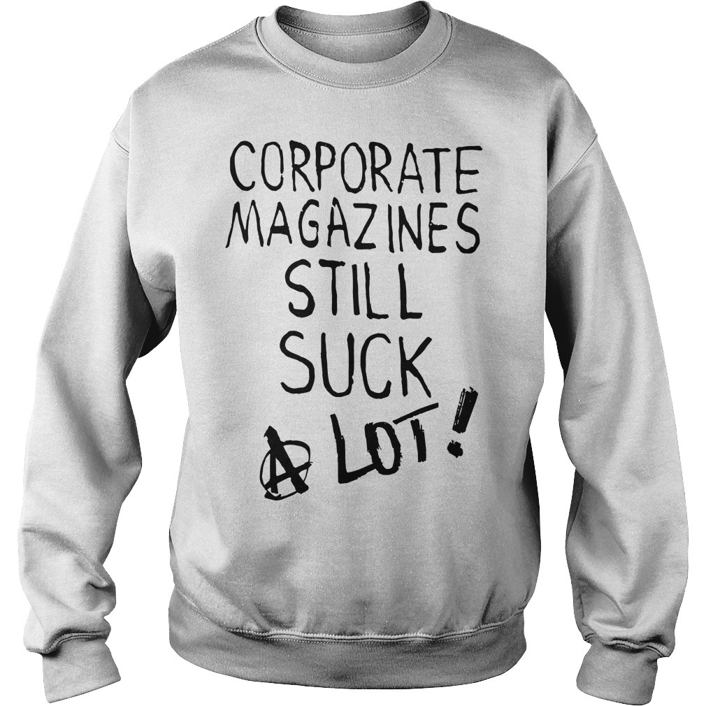 Kurt Cobain Corporate Magazines Still Suck A Lot Sweater