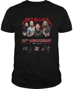 Metallica 38th Anniversary Shirt