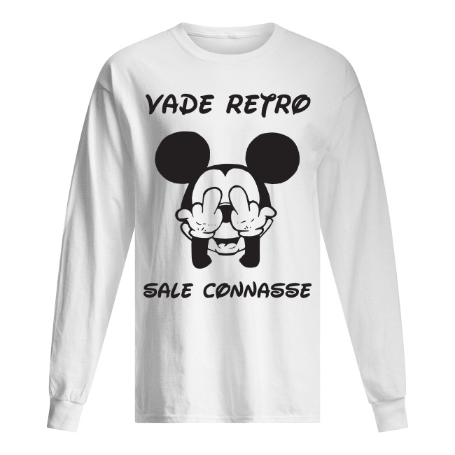 Mickey Vade Retro Sale Connasse Longsleeve Tee