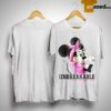 Minnie Unbreakable Breast Cancer Awareness Shirt