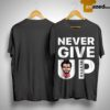 Mohamed Salah Face Never Give Up Shirt