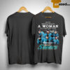 Never Underestimate A Woman Who Understands Hockey And Loves San Jose Sharks Shirt