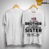 Norway Flag I'm A Proud Brother Of A Wonderful Sweet And Awesome Sister Shirt