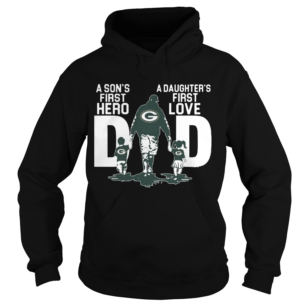 Philadelphia Eagle A Son's First Hero A Daughter's First Love Dad Hoodie