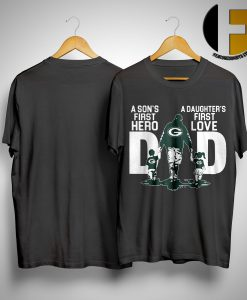 Philadelphia Eagle A Son's First Hero A Daughter's First Love Dad Shirt