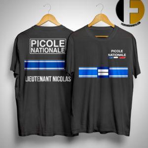 Picole Nationale Lieutenant Nicolas Shirt