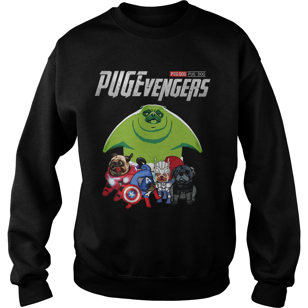 Pug Dog Pugevengers Sweater