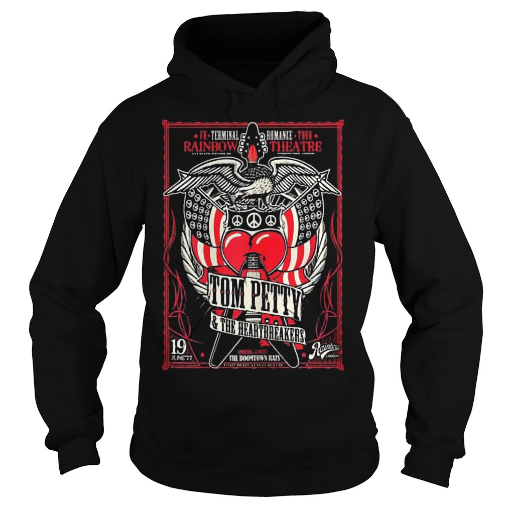 Rainbow Theatre Tom Petty And The Heartbreakers Hoodie
