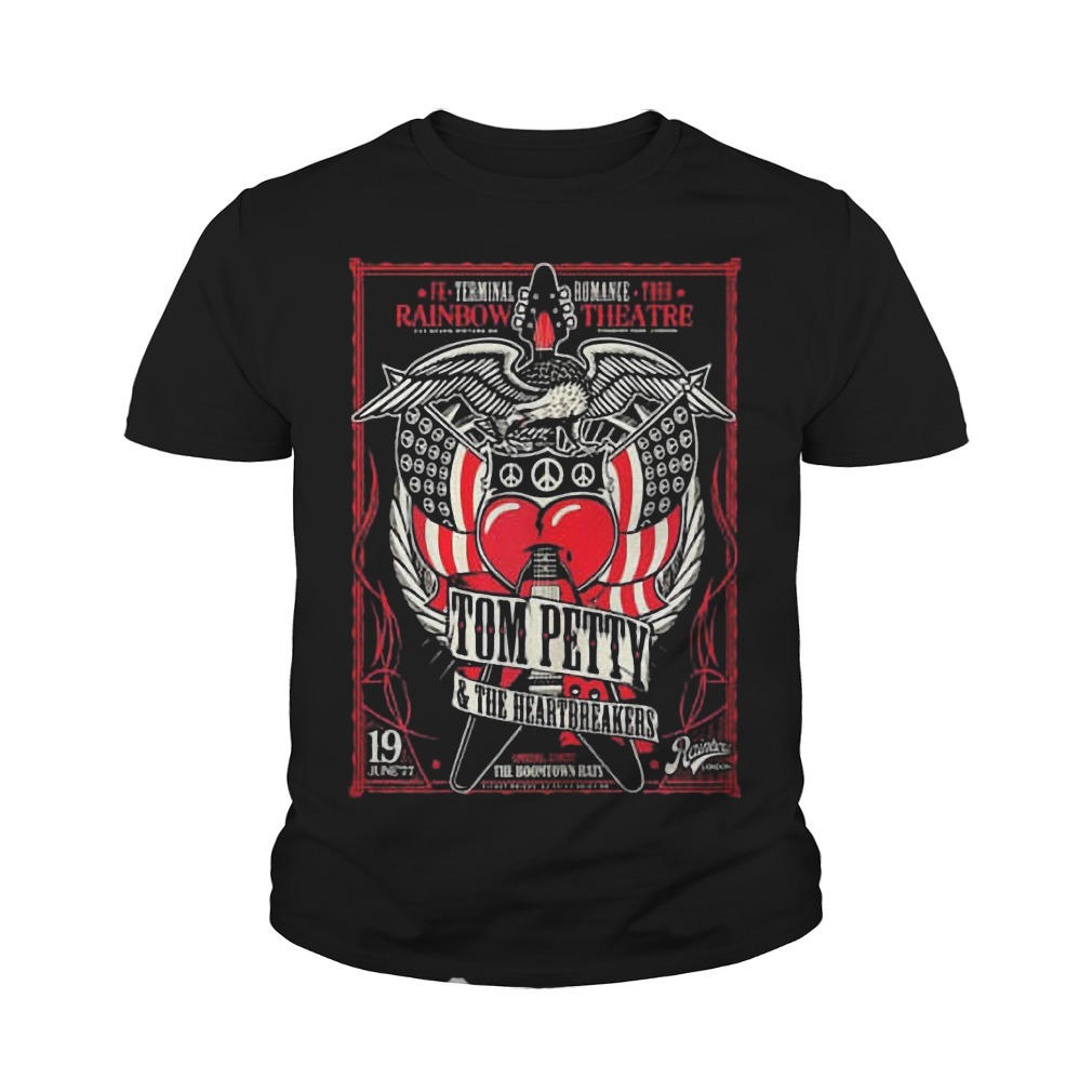 Rainbow Theatre Tom Petty And The Heartbreakers Youth Tee