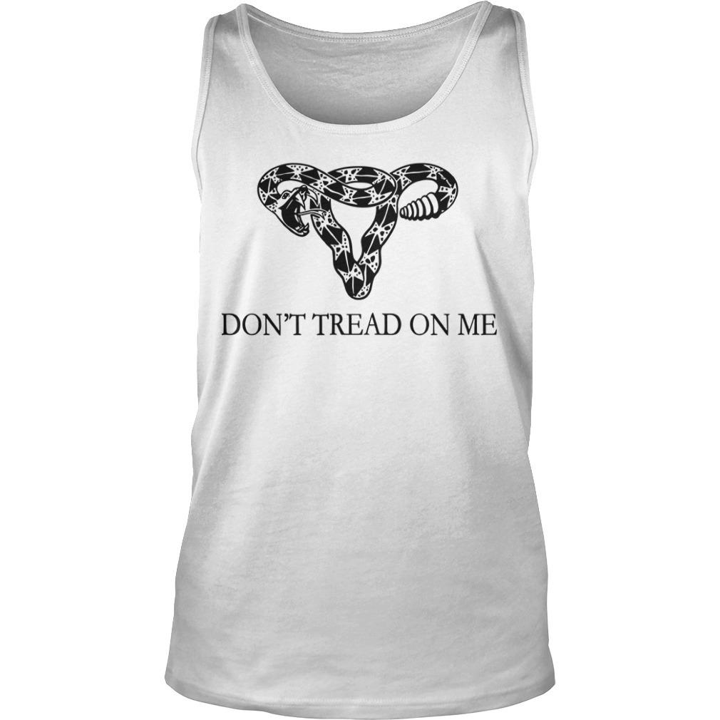 Rattlesnake Uterus Don't Tread On Me Tank Top