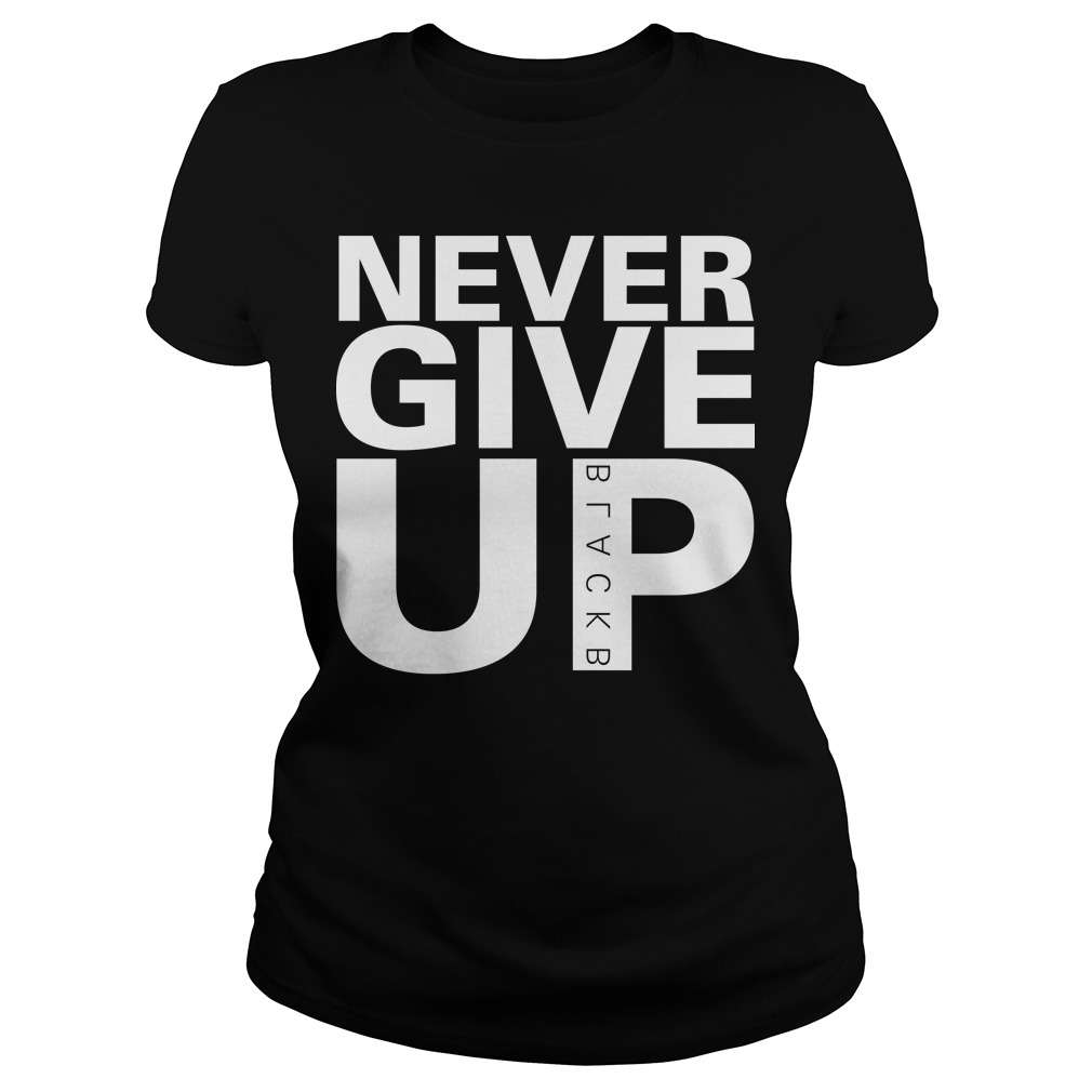 Salah Never Give Up Liverpool Ladies T Shirt