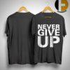 Salah Never Give Up Liverpool T Shirt