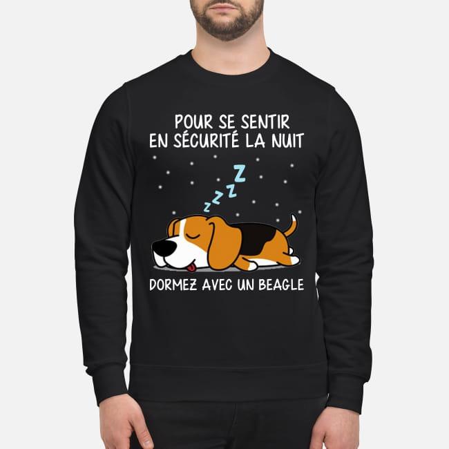 Pur Se Sentir En Sécurité La Nuit Dormez Avec Un Beagle Sweater