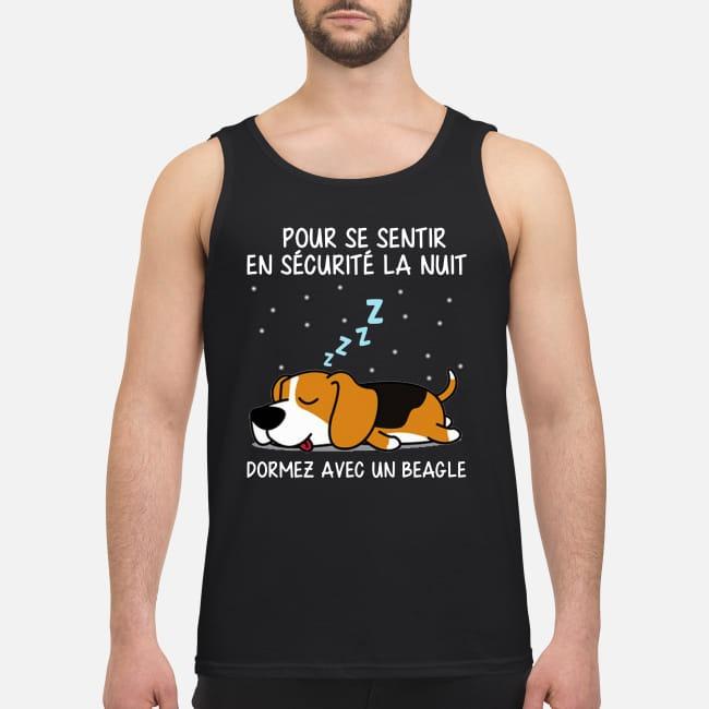 Pur Se Sentir En Sécurité La Nuit Dormez Avec Un Beagle Tank Top