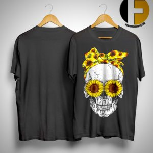 Skull Sunflower Eyes Shirt