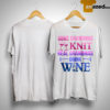 Some Grandmas Knit Real Grandmas Drink Wine Shirt