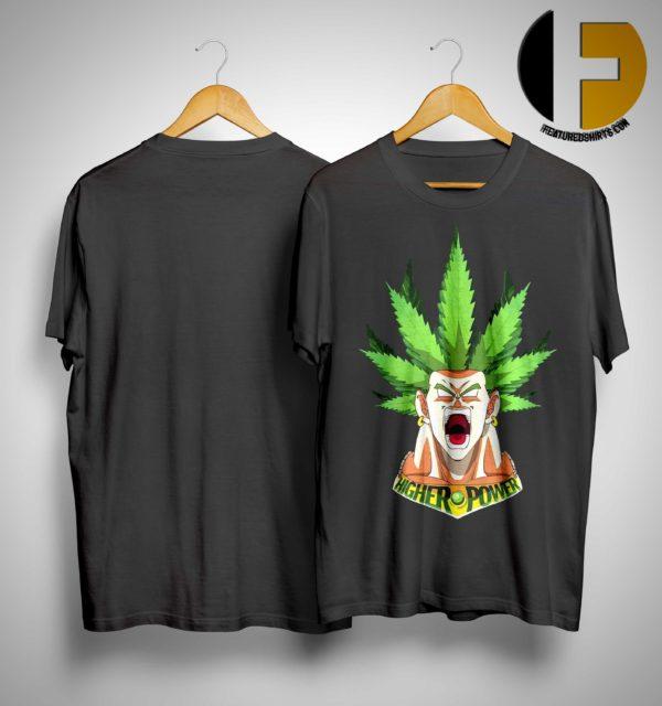 Songoku Weed High Power Shirt