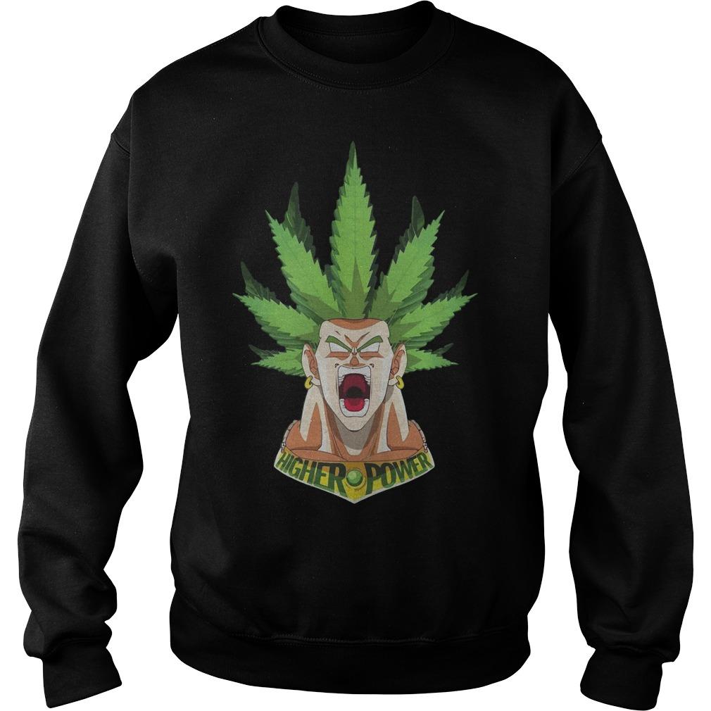 Songoku Weed High Power Sweater