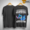 Stitch I Am Currently Unsupervised I Know It Freaks Me Out Too Shirt