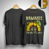 Sunflower Namaste Mother Fucker Shirt