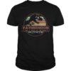 Sunset Dinosaur Fatherhood Like A Walk In The Park Shirt