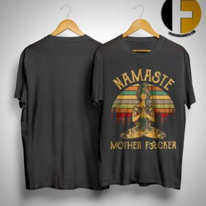 Sunset Namaste Mother Fucker Shirt