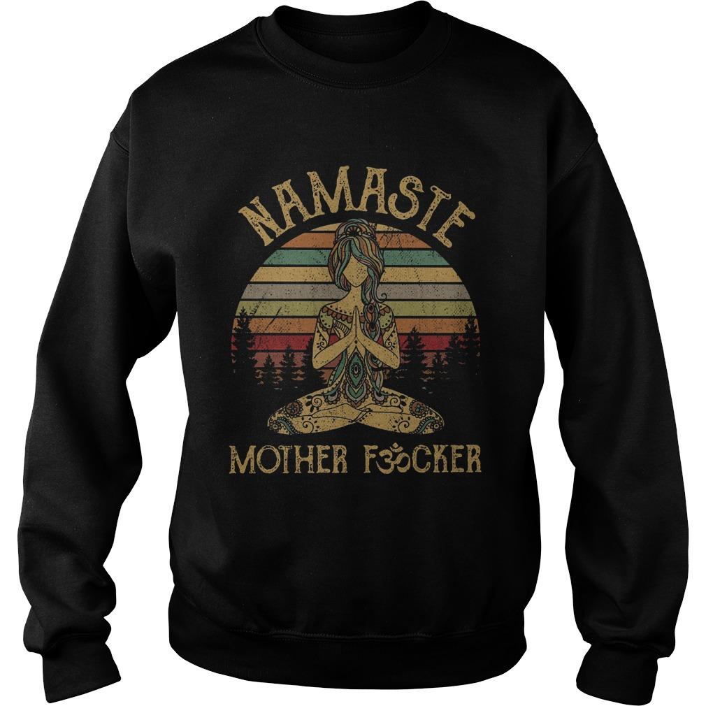 Sunset Namaste Mother Fucker Sweater