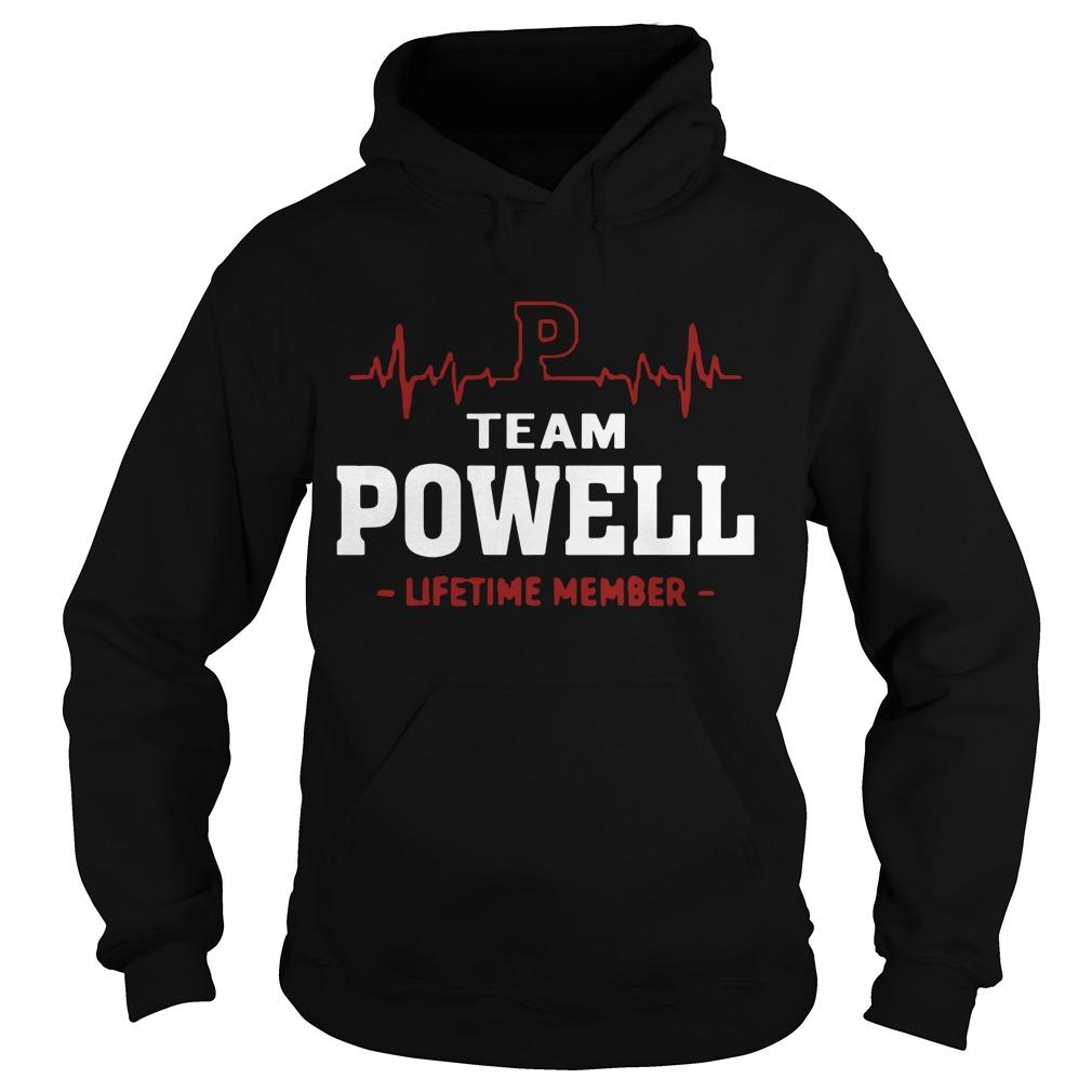 Team Powell Lifetime Member Hoodie