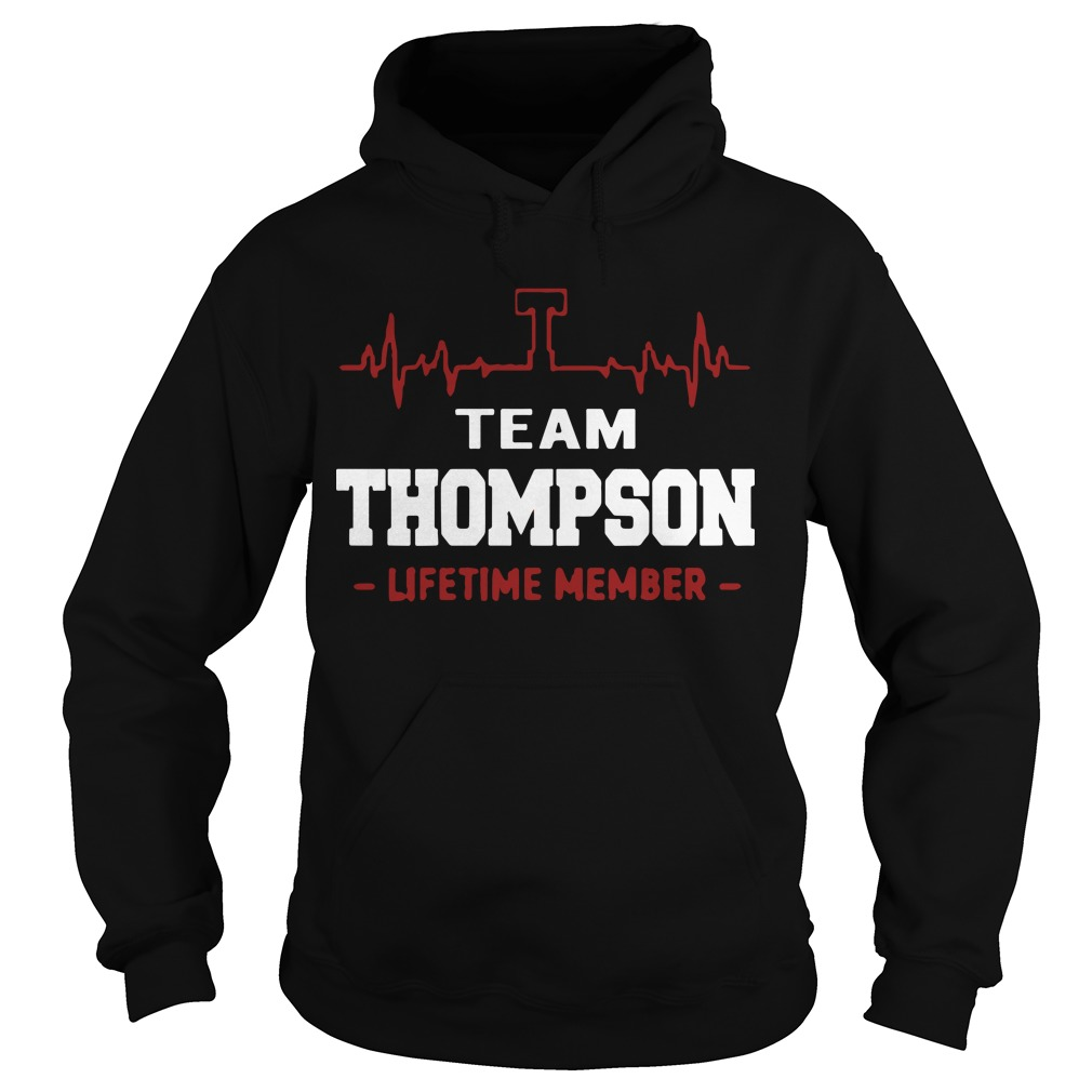 Team Thompson Lifetime Member Hoodie