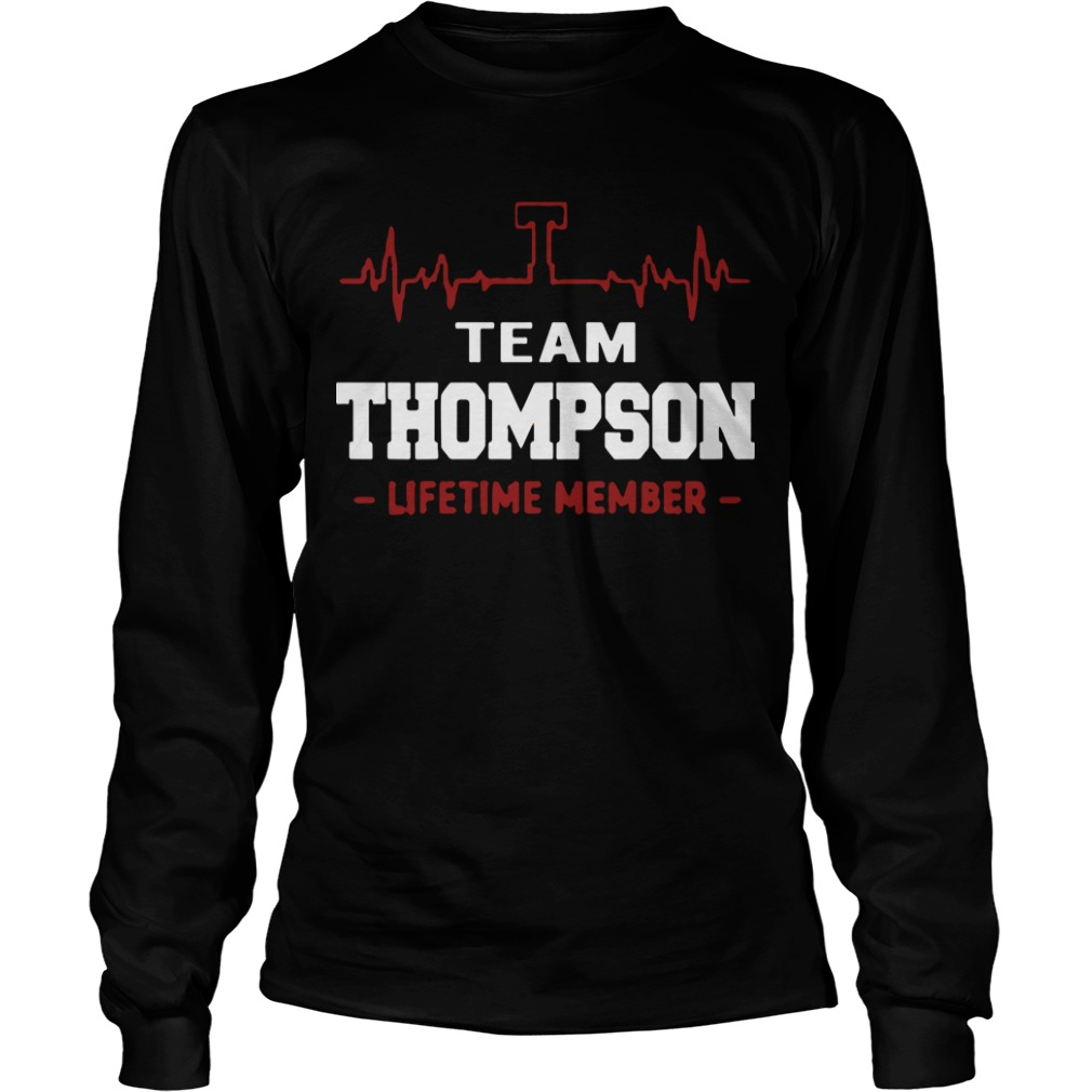 Team Thompson Lifetime Member Longsleeve Tee